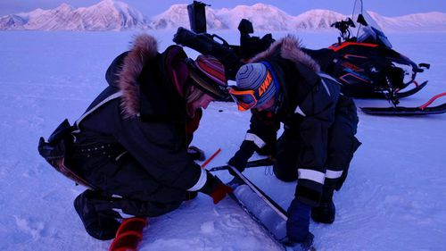 "Strom and Sorby are the first women in history to""overwinter"" in the Arctic without a male team member."