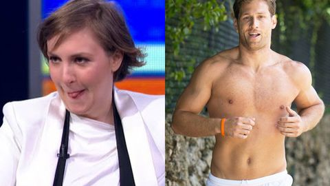 Watch: Lena Dunham's awesome reaction to kissing The Bachelor