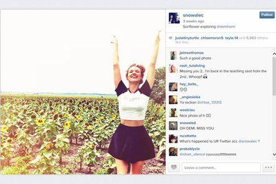 @snowalec: Sunflower exploring @demharm