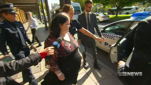 """The 47-year-old was so """"intoxicated"""" on drugs, she didn't even realise she'd run over the woman, the court heard. (9NEWS)"""