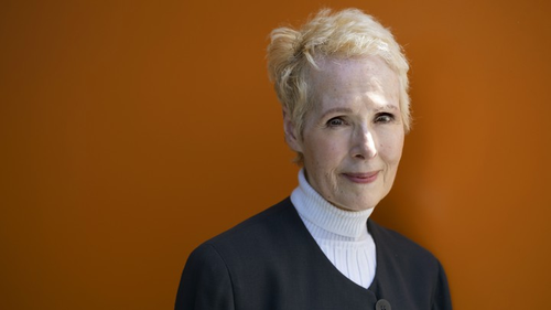 E. Jean Carroll is photographed in New York