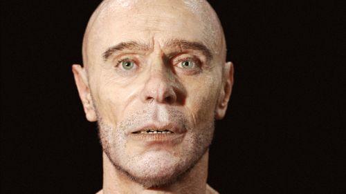 Vimeo users have lavished praise on the startlingly life-like CGI face. (Mathieu Aerni)