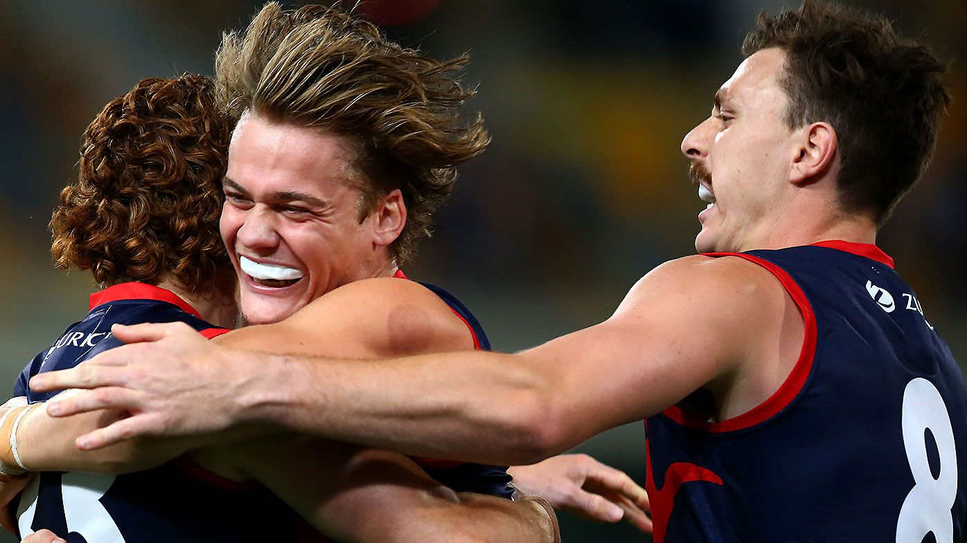 Youngster Trent Rivers' clutch goal proves to be the difference as Demons edge thriller