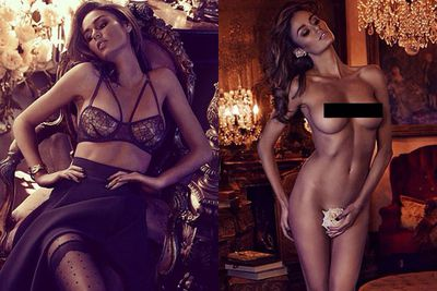 <b>Insta-followers</b>: 84.6k <br/><br/><B>Why she wins Instagram:</b>: <b>Miranda Kerr</b> 2.0? We think so. Aussie model <b>Nicole Trunfio</B> has out-nuded the best of them... including social media star (and sexy supermodel) M-Kerr. Which we also didn't think was humanly possible.</p> <br/><br/>Flaunting her fully-naked bod on Instagram at every chance she can get, it seems that the 28-year-old model would rather wear rose buds on her bits than actual clothing. Let's hope there were no thorns on that thing!