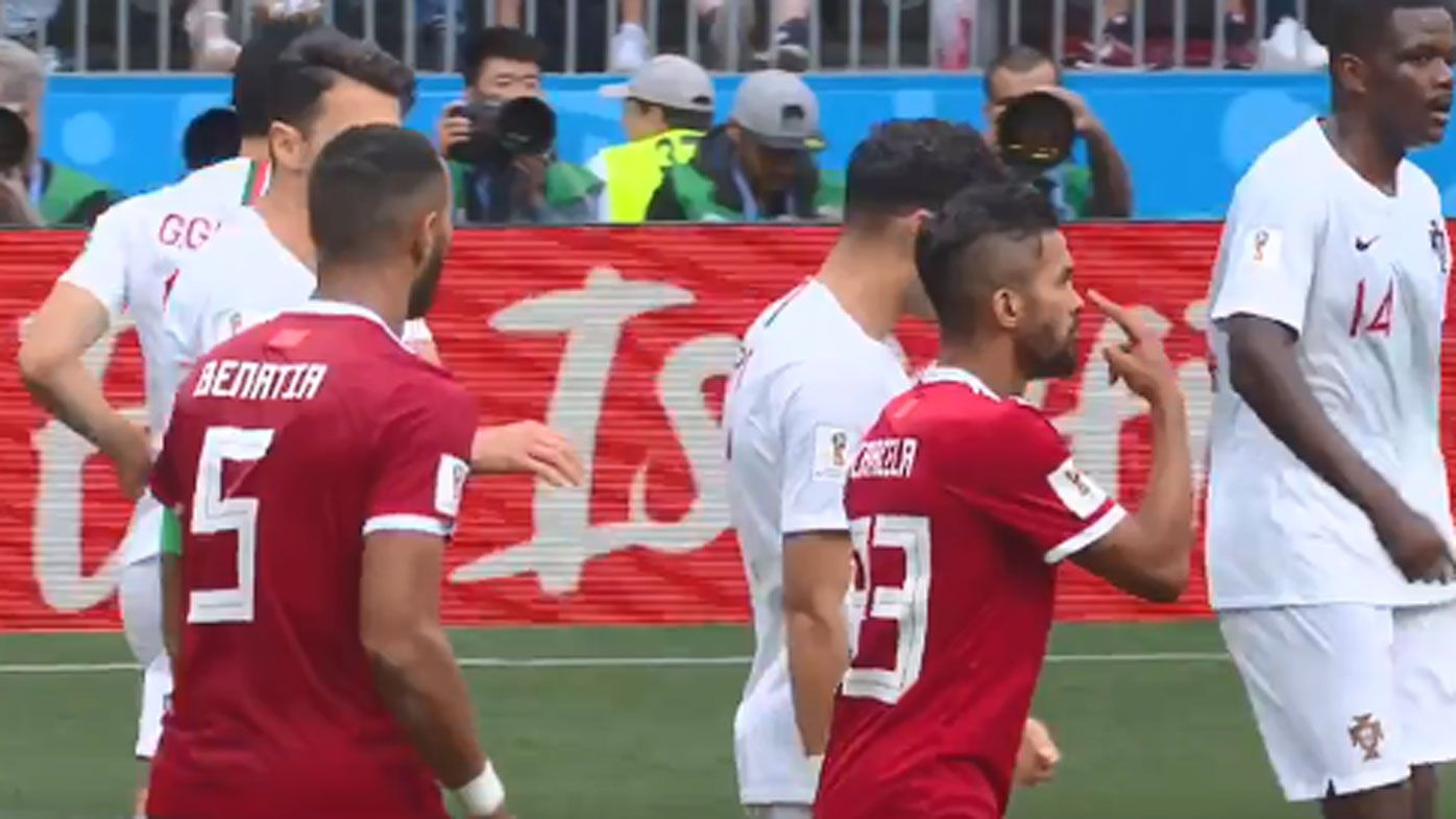 Portuguese star Pepe slammed for taking dive in Morocco win