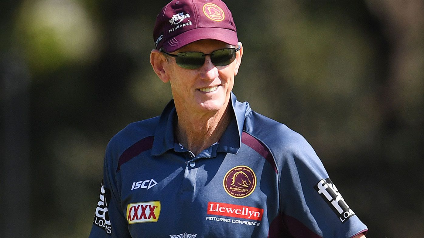 Wayne Bennett and Broncos CEO Paul White make peace for finals charge