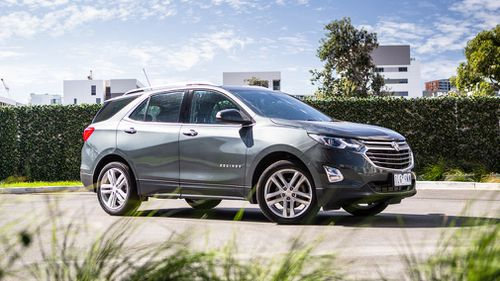 The Holden Equinox is carrying the company's hopes in the mid-size SUV market. (CarAdvice)