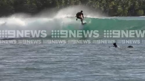 Boyd listed surfing as a outlet and escape. Picture: 9NEWS