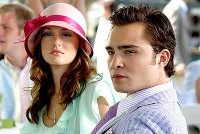 <B>The URST:</B> In season one, bad girl Blair Waldorf (Leighton Meester) was dating Nate Archibald (Chace Crawford), but the chemistry between her and Chuck Bass (Ed Westwick) was way more electric. At first the pair tried to make each other jealous by dating other people — but eventually they stopped playing games and, by season three, were officially an item. But naturally it wasn't long before they were back to being frienemies — hey, they've gotta get storylines somehow, right?