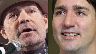 Justin Trudeau tearfully mourns Canadian singer's death