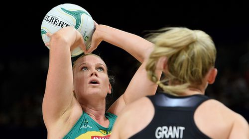 Caitlin Thwaites will play in the FAST5 World Netball Series. (AAP)