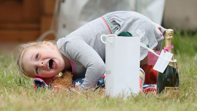 Mia Tindall gets cheeky at the Whatley Manor horse trials