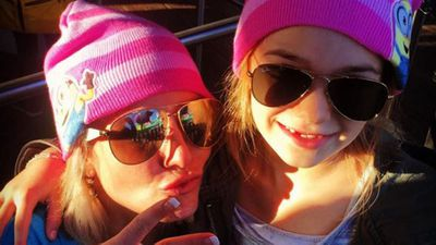 Britney Spears and her niece Maddie