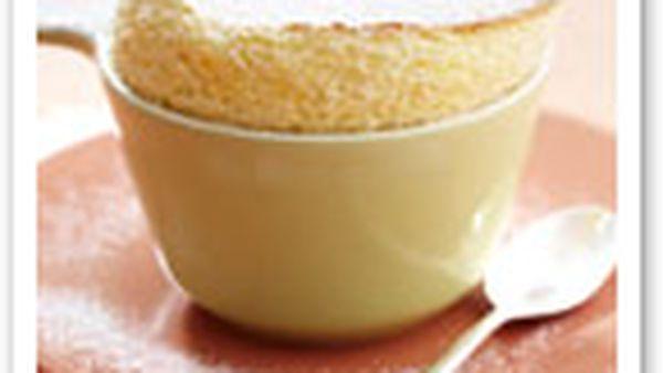 Warm citrus souffle