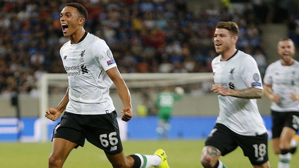 Liverpool defeat Hoffenheim in Champions League qualifying first-leg match