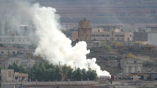 Heavy losses for ISIL militants in latest airstrikes on Syrian city