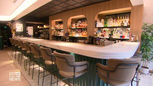 Empty Sydney bars are a common scene during the coronavirus pandemic.