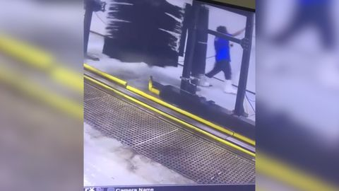 Car wash employee taken for a spin