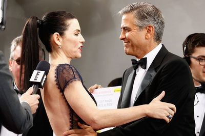 Here they are reunited at the 2013 Golden Globes! Julianna recently told <i>E! News</i> she'd do an on-screen reunion with George: 'We used to joke that they never gave us a wedding on that show. He said we should just do a movie and just see what the ticket receipts are. If George is in it, I'm game!'