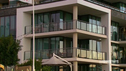 The apartment was purchased for $2.7 million in 2009. (9NEWS)