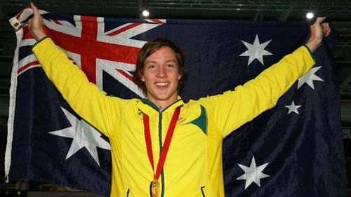 Australian gold medallist Daniel Tranter won gold in the 200m individual meedley final on day six of the Commonwealth Games. (Getty Images)