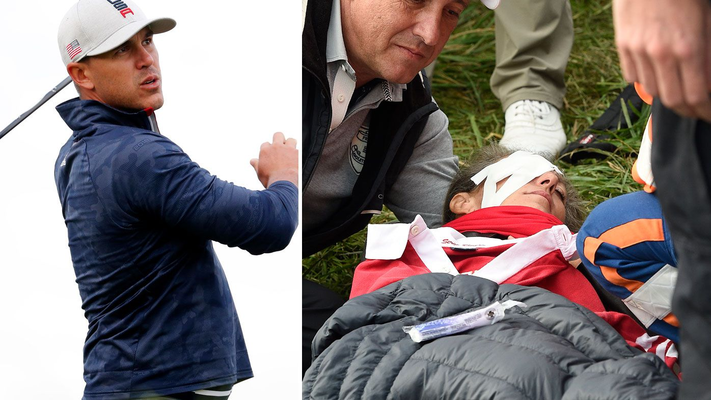 Ryder Cup: Fan struck by wayward Brooks Koepka shot loses sight in right eye