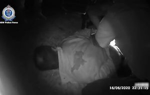 Confronting police bodycam vision shows officers' alleged assault on NSW Central Coast