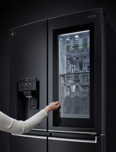 Open your fridge door using voice commands