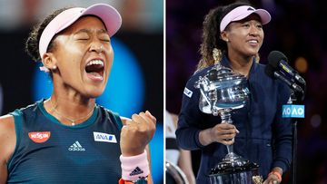 Australian Open Semi FInal Petra Kvitova Naomi Osaka