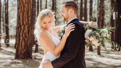 Heidi and Valentin held their 'dream wedding' in Arizona's White Mountains.
