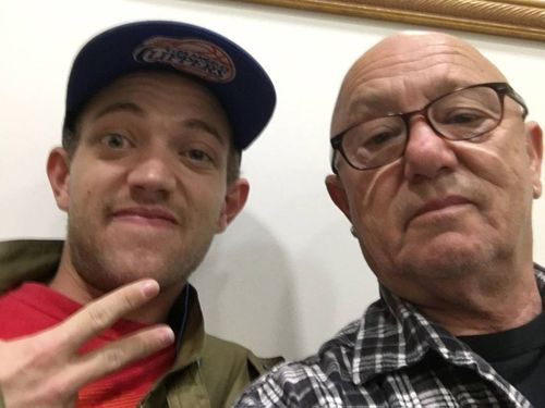 Liam Anderson and Angry Anderson