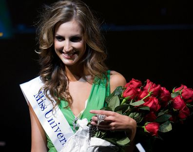 Laura Dundovic was crowned Miss Universe Australia in 2008.