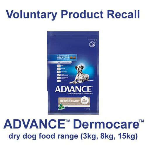 Advance Dermocare dog food investigated over links to illness that caused police dog to be put down
