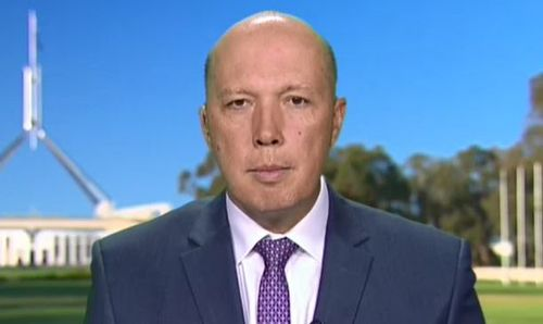"""Home Affairs Minister Peter Dutton said the athletes who refuse to go home are a """"cost of doing business"""". (TODAY)"""