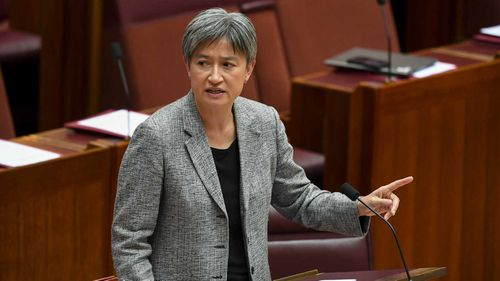Penny Wong said the Coalition made a 'secret deal' with Jacqui Lambie to repeal medevac.