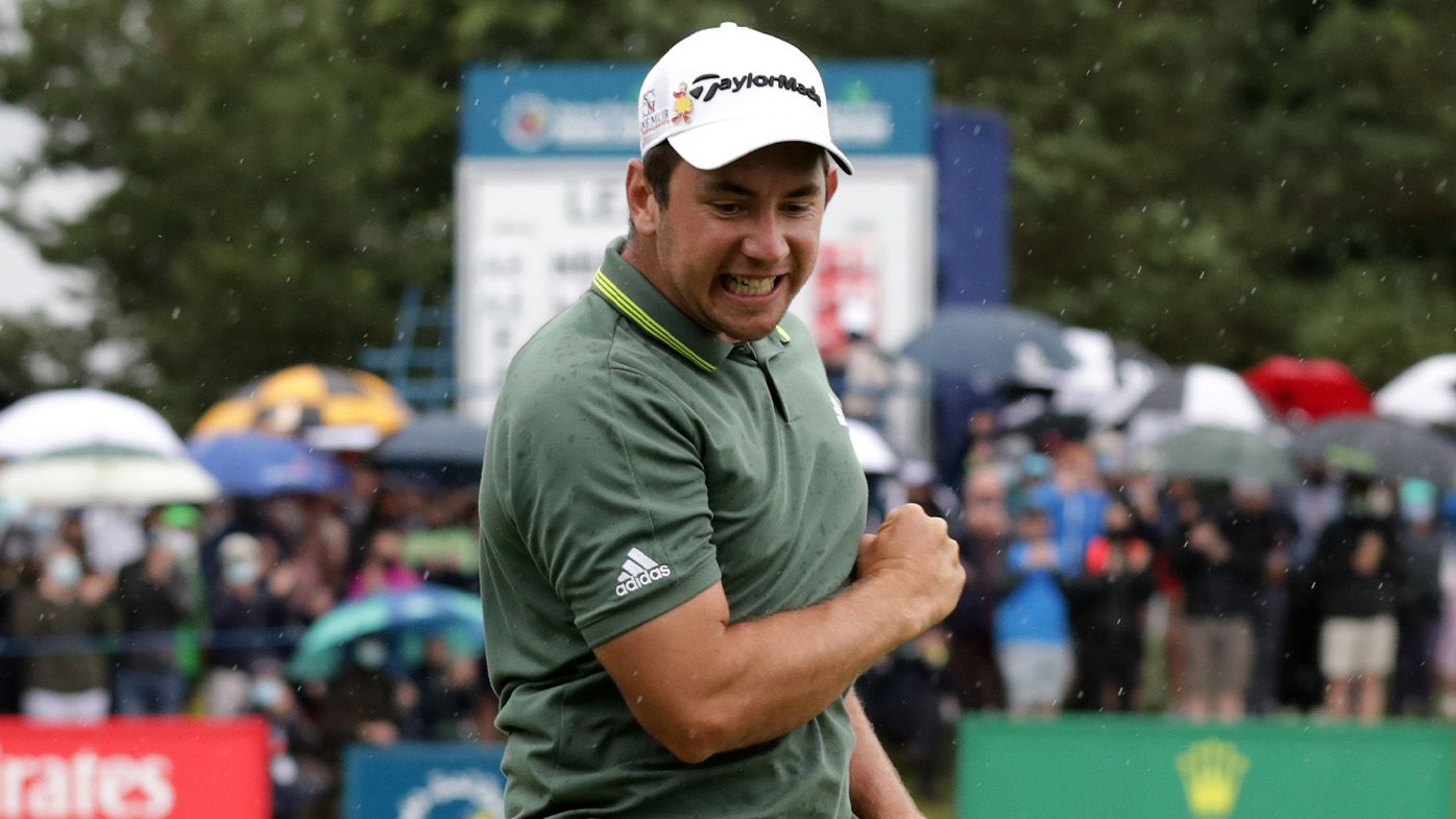 Australia's Lucas Herbert shoots exceptional final round to win Irish Open, gain spot at British Open