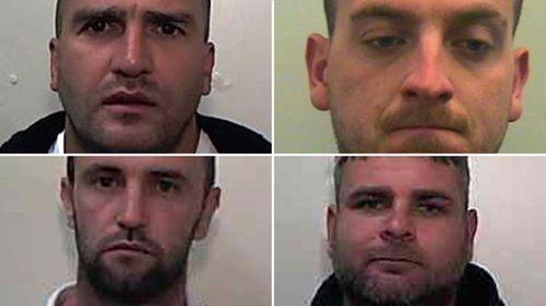 Four UK men on buck's party jailed for drunken behaviour on Vegas-bound flight