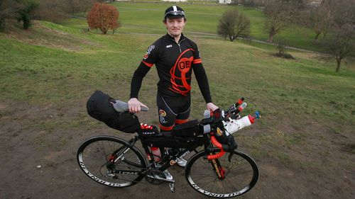 Mike Hall was killed by a car as he participated in a cycling endurance event.