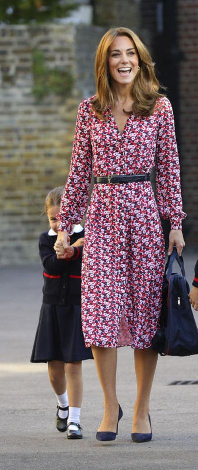 Princess Charlotte, four, began school in 2019.