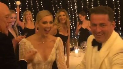 Karl Stefanovic and Jasmine Yarbrough's wedding: New video shows newlyweds inside their reception
