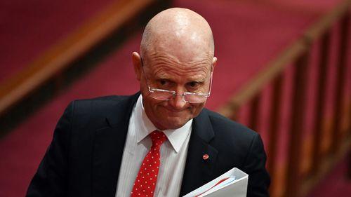 Liberal Democrat senator David Leyonhjelm believes legislation cracking down on revenge porn will have absurd unintended consequences (AAP Image/Mick Tsikas).