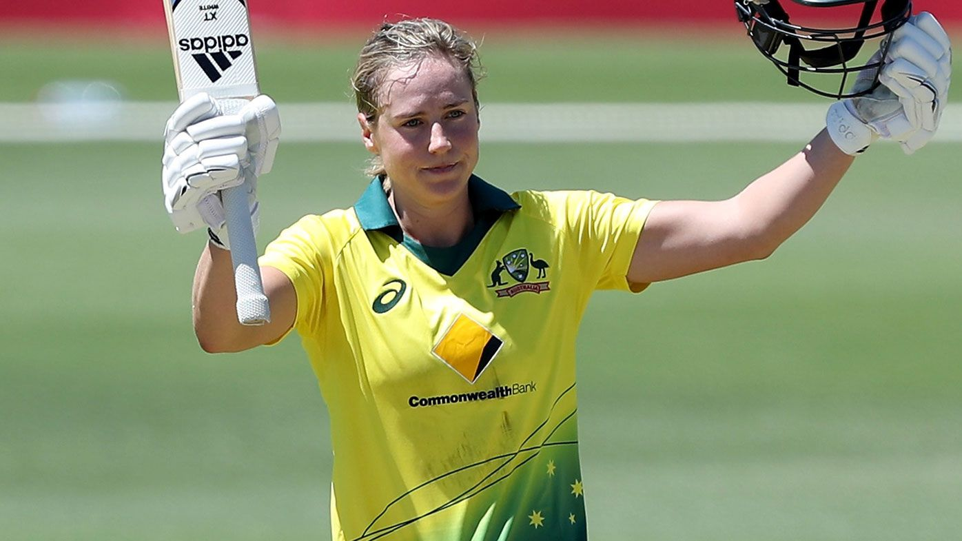 Elyse Perry maiden ODI century inspires Australia to victory over New Zealand