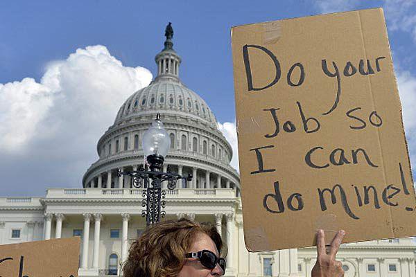Protestors in Washington