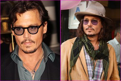 Johnny's a bit older than your average hipster...but it doesn't mean he's not hip. The 48-year-old has mastered the art of looking uber mismatched and uber cool all at once.