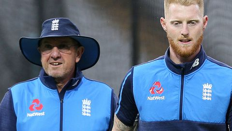 Trevor Bayliss (left) and Ben Stokes.
