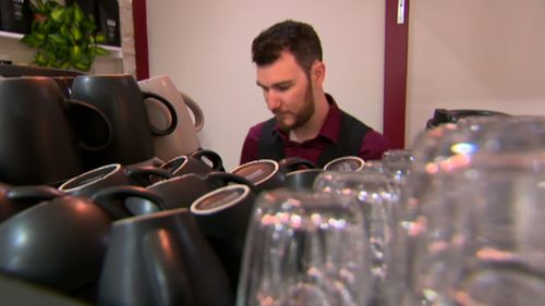 Troy Bailey had been plunged out of work as a barista when restrictions to curb coronavirus meant his employer had to close.
