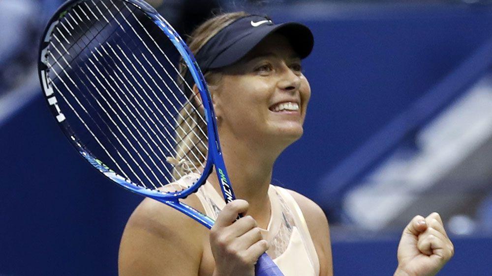 Sharapova, Williams head US Open winners