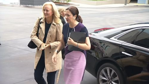 Annastacia Palaszczuk is on a 10-day trade mission. Picture: 9NEWS