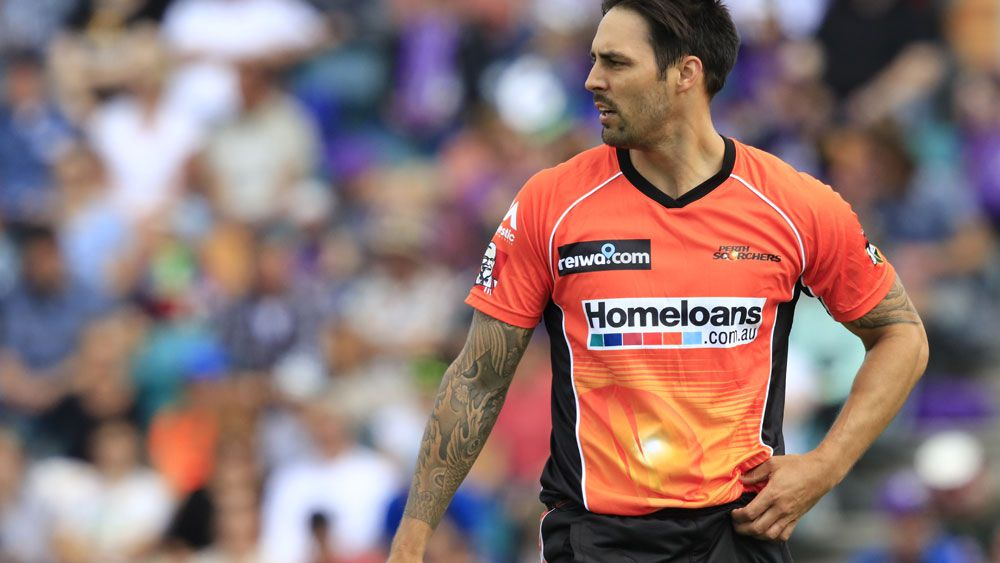 Mitchell Johnson has had his IPL contract slashed. (AAP)
