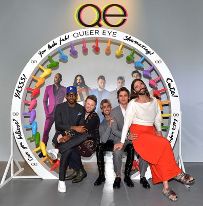 Queer Eye, cast, Karamo Brown, Bobby Berk, Tan France, Antoni Porowski, and Jonathan Van Ness